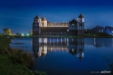 Reflection of the Mir Castle