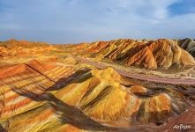 Danxia from above