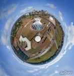 Metropolitan Cathedral of Our Lady of Aparecida. Planet