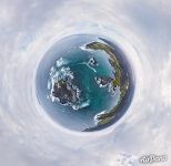 Pacific Ocean, Isabela Island. Planet
