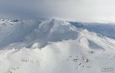 Val Thorens is the highest resort in Europe