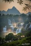 View of the Detian Falls (Ban Gioc)