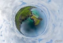 Carrick-a-Rede Rope Bridge. Planet