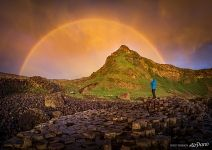 Rainbow over the Giant's Causeway