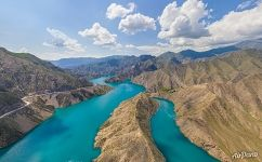 Above Naryn River