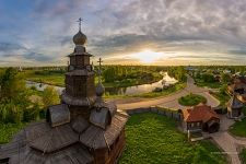 The Museum of Wooden Masterpieces, Suzdal, Russia
