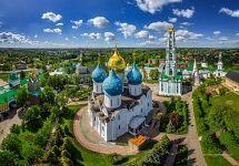 Trinity Lavra of St. Sergius. Sergiyev Posad, Russia