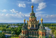 Peterhof, St. Peter and Paul Cathedral #2
