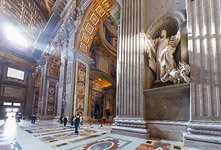 Interior of St. Peter's Basilica #6