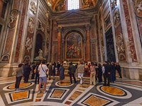 Interior of St. Peter's Basilica #4