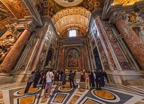 Interior of St. Peter's Basilica #5
