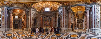 Interior of St. Peter's Basilica #2