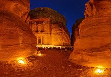 Petra at night #1