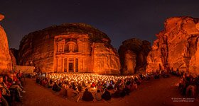 Petra at night #4