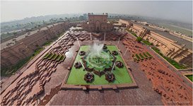 Akshardham, Fountains
