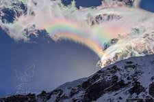 Rainbow in Himalayas