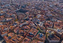 Bird's eye view of Madrid #5