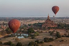 Balloon flight in Bagan #2