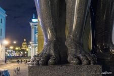 Feet of Atlantean of the New Hermitage