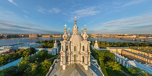 Smolny Cathedral. Panorama