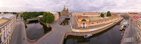 Moyka River and Griboedov Canal, Church of the Savior on Blood