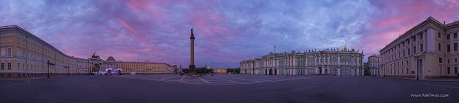 Palace Square at sunrise