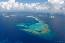 Aerial photo of Maldives #3