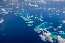 Aerial photo of Maldives #6