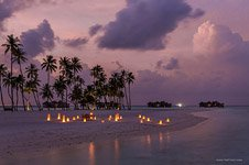 Maldives Islands at night #1