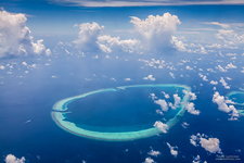 Aerial photo of Maldives #8