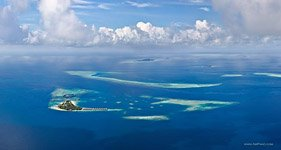 Aerial photo of Maldives #2