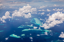Aerial photo of Maldives #5