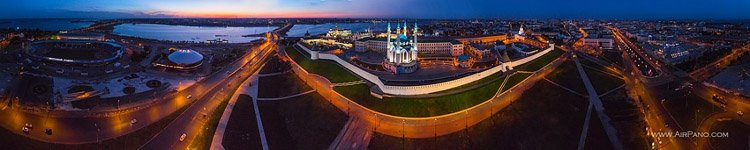 Kazan Kremlin at night #4