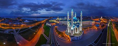Kazan Kremlin at night #3