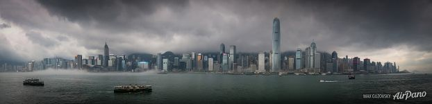 Storm in Hong Kong
