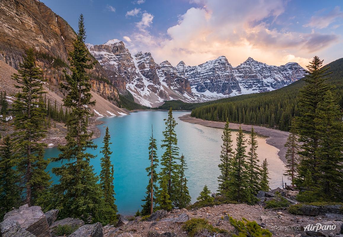Banff, Canada: Moraine Lake, Lake Louise, Calgary, and Canmore